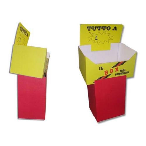 espositore cartone sios